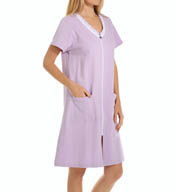 Eileen West French Terry Short Zip Robe 5115902