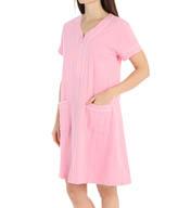 Eileen West Classic Short Zip Robe 5115934