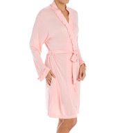 Eileen West Sea Splash Short Wrap Robe 5115938