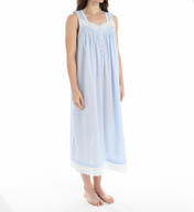 Eileen West Capri Seersucker Ballet Nightgown 5215888