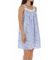 Eileen West Rose Short Sleeveless Nightgown 5315824