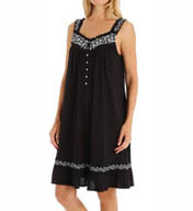 Eileen West Lily Short Sleeveless Modal Nightgown 5315858