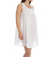 Eileen West Solid Short Nightgown 5315885