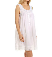 Eileen West Capri Seersucker Short Nightgown 5315888
