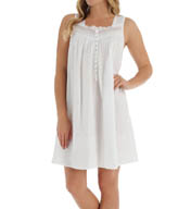 Eileen West Sleeveless Short Nightgown 5315898