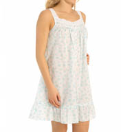 Eileen West Sleeveless Lawn Short Nightgown 5315915