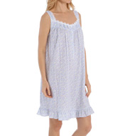Eileen West Sheer Jersey Short Nightgown 5315919