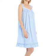 Eileen West Ocean View Sleeveless Waltz Nightgown 5315922