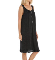 Eileen West Dotted Bloom Short Nightgown 5315933