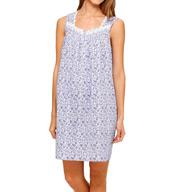 Eileen West Dream Flower Sleeveless Short Nightgown 5315949