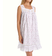 Eileen West Enchanting Sleeveless Short Nightgown 5315953