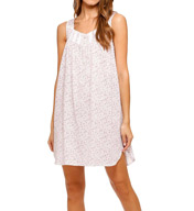 Eileen West Botanic Jersey Short Nightgown 5315954