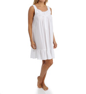 Eileen West Whitely Sleeveless Short Nightgown 5316002