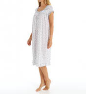 Eileen West Aster Waltz Cap Sleeve Nightgown 5415833