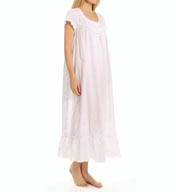 Eileen West Short Sleeve Long Nightgown 5415912