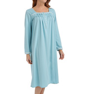 Eileen West Sea Breeze Long Sleeve Waltz Nightgown 5415964
