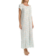 Eileen West Seaside Short Sleeve Ballet Nightgown 5415966