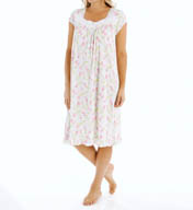 Eileen West Short Sleeve Waltz Nightgown 5515909