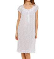 Eileen West Short Sleeve Waltz Nightgown 5515918