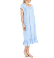 Eileen West Ocean View Cap Sleeve Waltz Nightgown 5515922