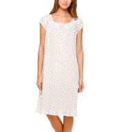 Eileen West Winter Cap Sleeve Waltz Nightgown 5515963