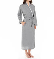 Eileen West Rosebud Chambray Ballet Wrap Robe 5915830