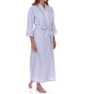 Eileen West Capri Seersucker Ballet Wrap Robe 5915888