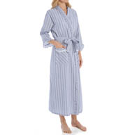 Eileen West Summertime Seersucker Ballet Wrap Robe 5915923