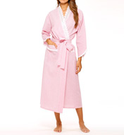 Eileen West Beach Bliss Seersucker Ballet Wrap Robe 5915929