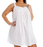 Eileen West Plus Size Short Nightgown 6315944