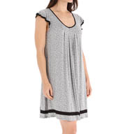 Ellen Tracy Short Sleeve Chemise 8015331