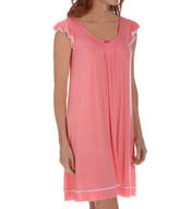 Ellen Tracy Short Sleeve Chemise 8015378