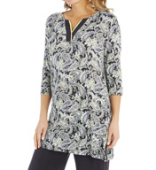 Ellen Tracy Tunic Shirt 8115379
