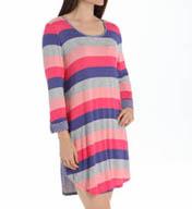 Ellen Tracy Equinox 3/4 Sleeve Sleepshirt 8215328
