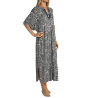 Ellen Tracy Mad About Mint Long Caftan 8215397