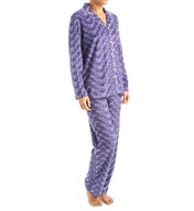 Ellen Tracy Winter Ready Fleece Long Pajama Set 8215487