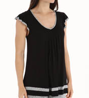 Ellen Tracy Short Sleeve Top 8415331