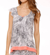 Ellen Tracy Short Sleeve Top 8415378