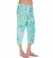 Ellen Tracy A Breath Of Fresh Flair Cropped Pant 8615316