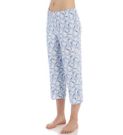 Ellen Tracy A Sea of Dreams Cropped Pant 8615396