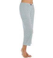 Ellen Tracy Mad About Mint Cropped Sleep Pant 8615397