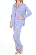 Ellen Tracy Classics & Comfy Long Sleeve Long PJ Set 8815307