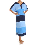 Ellen Tracy A Sea of Dreams Long Caftan 8815396