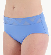 Empreinte Sublime Chevron Waist Deep Brief Swim Bottom BNS-SUB