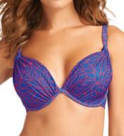 Fantasie Cape Verde Underwire Padded Plunge Bikini Swim Top FS5413