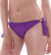 Fantasie Lombok Mid Rise Brief with Scarf Tie Swim Bottom FS6010