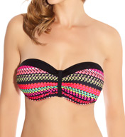 Fantasie Paphos Underwire Gathered Bandeau Bikini Swim Top FS6083