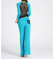 Fleur't Fleur't With Me Lace Back Pajama Set 2309