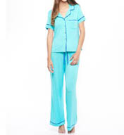 Fleur't Cozy Nights Short Sleeve PJ Set 2603