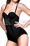 Flexees Easy Up Strapless Firm Control Bodybriefer 1256